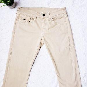 Men's True Religion Rocco Skinny Khaki Jeans, 30